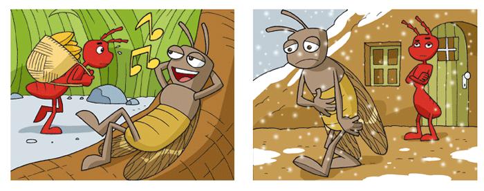 La formica e la cicala