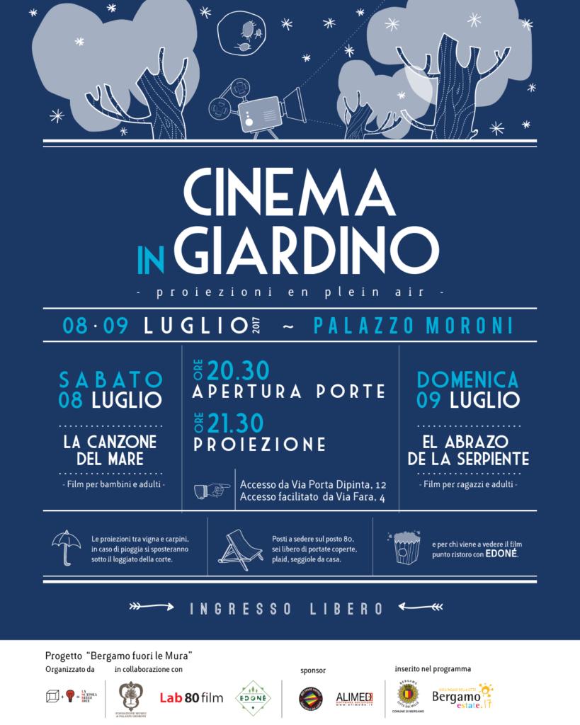 CINEMA IN GIARDINO 2017_POST FB